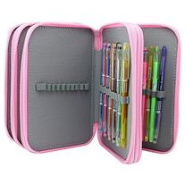 Super Large Capacity Multilayer Pencil Case, Holds 72