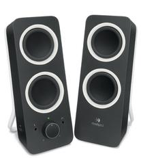 Logitech Multimedia Speakers Z200 with Stereo Sound for