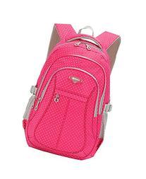 JiaYou Kid Child Girl Multipurpose Dot Backpack School Bag