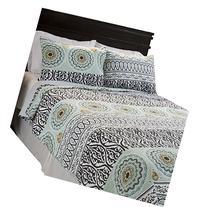 Lavish Home Muna 2 Piece Cotton Quilt Set - Twin