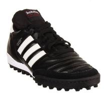 adidas Performance Mundial Team Turf Soccer Cleat,Black/
