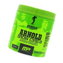 Muscle Pharm Arnold Schwarzenegger Iron CRE3 Creatine, Blue