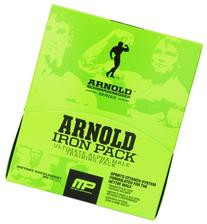 Muscle Pharm Arnold Schwarzenegger Iron Training Pack, 30