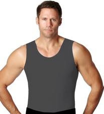 Insta Slim Grey Muscle Tank Men's Firming Compression Under