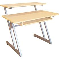 On-Stage WS7500MG Maple/Gray Steel Wood Workstation