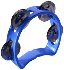 Stagg Music Mini Tambourine, Blue
