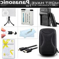 Must Have Accessory Kit For Panasonic DMC-ZS50K, DMC-ZS45K,