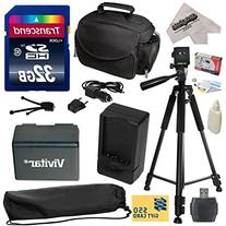 Must Have Accessory Kit for Canon VIXIA HF R52 HFR52, HF R50