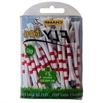 Champ MyHite FLYTee 2 3/4 Golf Tees - Pack of 40 -White