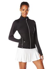 Bolle Women's Mystique Zip Front Jacket, X-Large, Black
