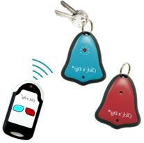 Click 'n Dig Model D2 Key Finder. 2 Receivers. Wireless RF