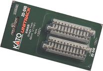 "Kato N Scale Unitrack 2 7/16"" 62mm Straight Track 4 Pack KA-"