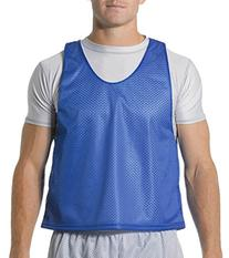 A4 N2274 Lacrosse Reversible Practice Jersey - Royal & White