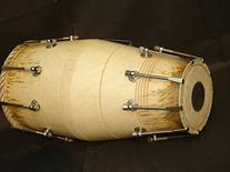 SG Musical Special Gajra Dholak/Dholki, Mango Wood, Bolt