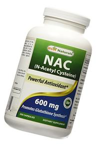 Best Naturals NAC - N Acetyl Cysteine 600 mg 250 Capsules -