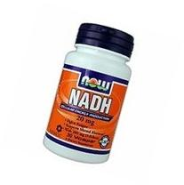 Now Foods NADH With 200 mg D-Ribose 10 mg. - 60 Vegetarian