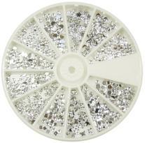 Silver Moon Rhinestone Pack of 1200 Crystal Premium Quality