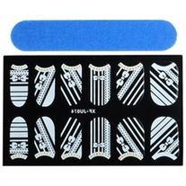 Zodaca Nail Art Lace Stickers, Totem