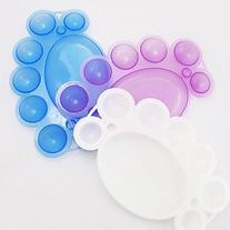 EVERMARKET 1PCS Nail Art Color Mixing Palette