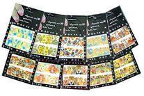 Nail Art Water Slide Tattoo Decals ♥ Full-Cover ♥ Animal