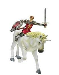 Narnia Battle scale figure Peter & Unicorn
