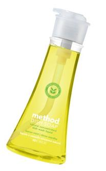 Method Naturally Derived Gel Dish Pump, Lemon Mint, 18 Ounce