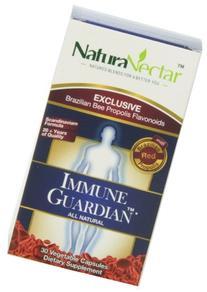 NaturaNectar - All Natural Immune Guardian - 30 Vegetarian