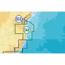 Navionics NAV-CF/643P+ Platinum California and Oregon on CF