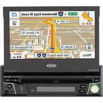 "Jensen 7"" Navigation Flip Out Touchscreen CD/DVD Receiver"
