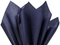 ShipGuard® Premium Quality Gift Wrap Paper® for Gift Wrapping Paper Crafts, Packing, DIY Crafts and more. | Dark Navy Blue | 15 x 20 100 Sheets