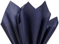 """100 Ct Bulk Tissue Paper Dark Navy Blue 15"""" X 20"""
