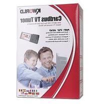 KWorld NB-TV 100 Notebook CardBus TV Tuner Card