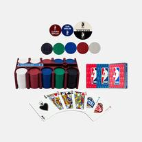 NBA 200 Chip Poker Set with Collector s Tin