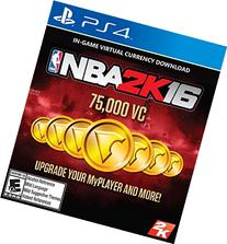 NBA 2K16 - 75,000 VC - PlayStation 4