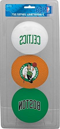 NBA Boston Celtics 3-Ball Soft Basketball Set