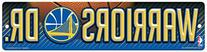 NBA Golden State Warriors High-Res Plastic Street Sign