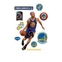 NBA Golden State Warriors Stephen Curry Wall Graphic