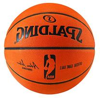 Spalding NBA Official Indoor Game Balls, 4 Ball Master Pack