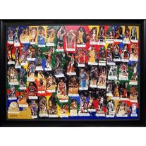 NBA Legends of Basketball Autographed / Signed Framed 60x40