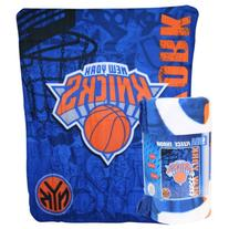 NBA Lightweight Fleece Blanet  - New York Knicks