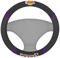 FANMATS NBA Los Angeles Lakers Polyester Steering Wheel