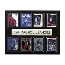 NBA Michael Jordan Chicago Bulls 8 Card Plaque