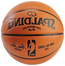 Spalding NBA Never Flat Game Replica Ball, Offical Size/29.5