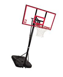 "Spalding NBA Portable Basketball System - 44"" Polycarbonate"