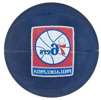 Spalding NBA Philadelphia 76ers Mini Rubber Basketball