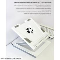 NBS-07WH NOTEBOOK LAPTOP COOLING STAND W/ 4 PORT USB HUB