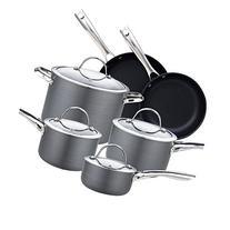 Cooks Standard NC-00347 10-Piece Hard Anodize Premium Grade