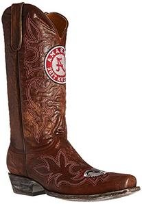 NCAA Alabama Crimson Tide Men's Gameday Boots, Brass, 9 D