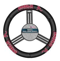 NCAA Alabama Crimson Tide Leather Steering Wheel Cover, One