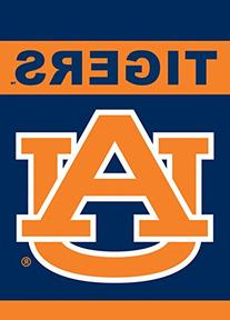 NCAA Auburn Tigers 2-Sided Garden Flag 12 x 18in